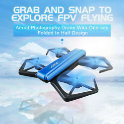 H43WH Crea 720P WIFI Camera Foldable With Altitude Hold RC Quadcopter yuju $29.88