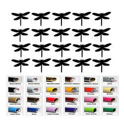 20 Dragonfly Stickers for Wedding Decal Fairy Theme Party Favor wall room decor $8.40