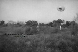 UFO Flying Saucer PHOTO Madrid Spain PROJECT BLUE BOOK 67 Alien Ship Disc $3.98