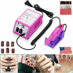 Professional Electric Nail File Drill Manicure Tool Pedicure Machine Set kit US $18.99