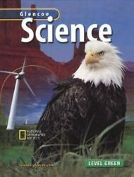 Glencoe Science Level Green Student Ed 2003 HC $10.00