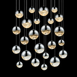 Sonneman 2918-AST Chrome Grapes 24 Light Led Pendant