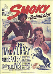 Smoky 1946 staring Fred MacMurray and Anne Baxter