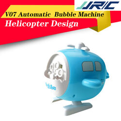 JJRC Summer Bubble Automatic Helicopter Kids Toys Electric Bubble Machine $21.37