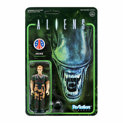 Aliens Hicks Super 7 ReAction Action Figure New $18.99