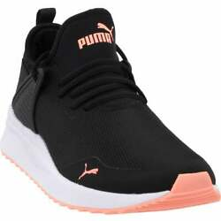 Puma Pacer Next Cage Mens Running Sneakers Shoes Black $44.99