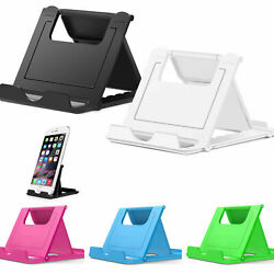 Desk Office Phone Universal Stand Mount Dock Durable Folding For Cell Ph $3.49