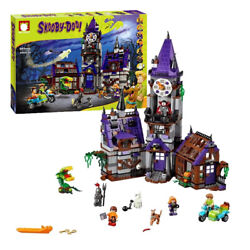 Toy Scooby Doo Mystery Mansion Building Educational Kids Blocks 10432 860 pcs $56.99