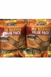 28 HotHands Warmers HotHands Hot Hands Toe Warmers 2 Packs Expire 2023 2 PACKS $13.99