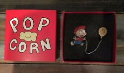 Nickelodeon Nick Box Rugrats Tommy Pickles Baseball Grizzlies Balloon Chain Pin $12.99