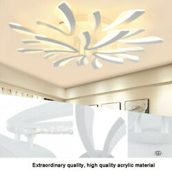 Modern LED Acrylic Ceiling Lamp Pendant Light Chandeliers Bedroom Room $49.74