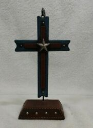 Western hanging Cross decor12quot; tall 4quot; wide $20.00