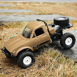 WPL C14 1 16 2.4GHz 4WD RC Crawler Off road Semi truck Car with Headlight RTR US $41.99