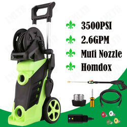 3500PSI 2.6GPM Electric Pressure Washer High Power Water Cleaner Jet Machine US $115.99
