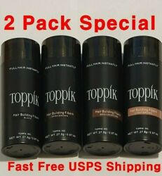Dark Medium Light Brown Black 27.5g Toppik Gray White Blonde $9.90