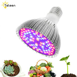 5730 E27 LED Plant Grow Light Full Spectrum For Indoor Desktop Flowers Herbs $7.67