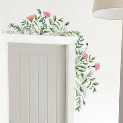 Removable Leaf Flowers Mural Wall Stickers Decal DIY Room Decor Vinyl Art $8.34