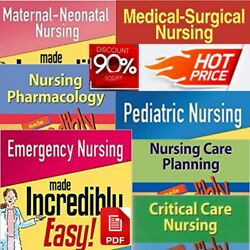 Best Collection Nursing Books ✅ Made Incredibly Easy ✅ FAST DELIVERY ✅