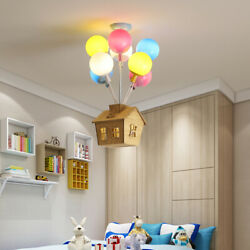 Nordic Colorful Balloons Pendant Ceiling Lamps Kids Hanging Room Lights Fixtures $303.48