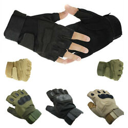 Half finger Riding Gloves Cycling Bicycle Motorcycle Workout Fitness GYM Sports $9.99