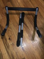 IRON GYM by PRO FIT PULL UP UPPER BODY WORKOUT BAR Door Frame Mobile Exercise $20.00