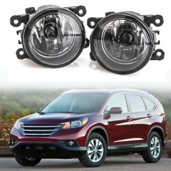 Fog Light Lamp For Ford Explorer 11-2015 PAIR Factory Replacement Clear Lens USA $26.29