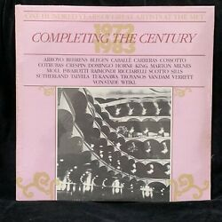 One Hundred Years of Great Artists at the MET - 1972-1983 SEALED NEW 2LP $8.00