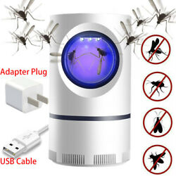 Safe Electric Mosquito Killer Lamp Indoor Fly Bug Insect Zapper Trap LED Light   $11.99