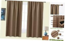 NICETOWN Kids Blackout Curtain Panels - Window Treatment Thermal Insulated Solid $51.42