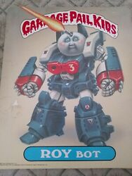 1986 Topps Garbage Pail Kids Roy Bot & Ashcan Andy Folder Pee Chee VG Condition $14.50