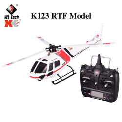 Wltoys XK 6CH 3D 6G System Remote Control Toy RC Helicopter Drone amp; Transmitter $144.23