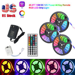 32ft 49ft RGB Flexible 600 LED Strip Light 3528 SMD Fairy Lights Room TV Party $18.99