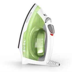 New BLACK+DECKER Easy Steam Anti-Drip Compact Steam Iron, Green $23.70
