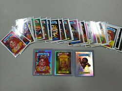 Lot of 2014 Topps Chrome Garbage Pail Kids Cards with 3 Refractors  $4.99
