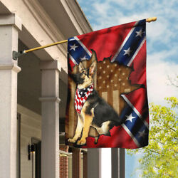 German Shepherd With Flag 3D High Quality All Over Prints  $21.99