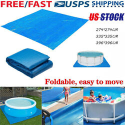 For 91113 FT Ground Cloth Tarp Round Above Ground Swimming Pool Mat USA $22.49