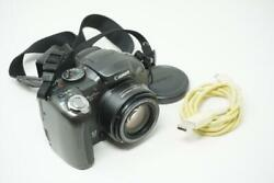 Canon PowerShot S3 IS 6MP Digital SLR Camera Body Only Black Very Good Used Y152 $41.95