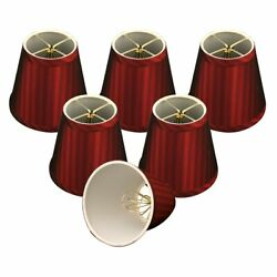 Royal Designs Burgundy Modified Bell Chandelier Lamp Shades Red $39.14