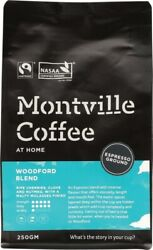 Montville Coffee Woodford Blend Espresso Grind Coffee Grounds 250g AU $14.70