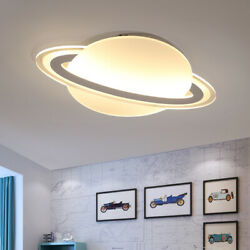 LED Ceiling Light Flush Mount Chandelier Fixture Dimmable Kids Bedroom Saturn US $119.59