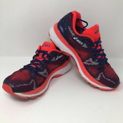 Asics Womens Gel-Nimbus 20 Running Shoes Blue T850N Low Top Lace Up Mesh 7.5 $38.99
