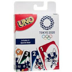 UNO Tokyo 2020 Olympic Games Card Gazme $11.75