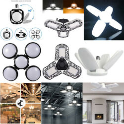 2x4x E27 LED Pendant Light Foldable 60W 120W 150W Deformable Garage Ceiling Lamp $11.69