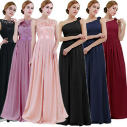 Women's Formal Long Bridesmaid Dresses Homecoming Prom Gown Cocktail Party Dress