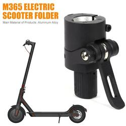 Aluminum Alloy M365 Electric Scooter Tackles Folding Pole Base Replacements Part $21.05