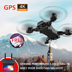 WIFI RC GPS Drone 4K Camera HD Dual Camera Quadcopter FPV Foldable Aircraft* $27.55