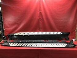 07 13 BMW E70 X5 LEFT AND RIGHT SIDE RUNNING BOARD STEP BAR SKIRT BOARD 102919 $297.49
