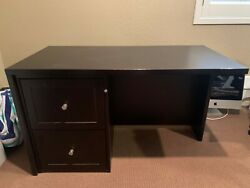 Crate and Barrel Dark Brown Medium Sized Desk (2 available sold separately) $100.00