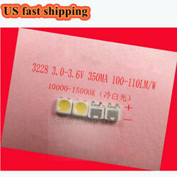 100Pcs 3228 3V SMD Lamp Beads 350mA for LED TV Backlight StripRepair TV $12.91