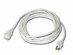 Heavy Duty IndoorOutdoor UL Listed Extension Cord 25ft -White $24.49